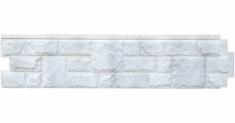Фасадная панель Grand Line ЯФАСАД Екатерининский камень (Серебро), 1,40м