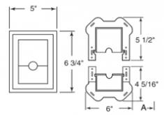 раздельный мини-блок,  Split Block Mini, код 030401***, цвет любой