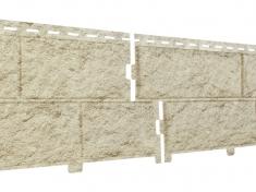 Фасадные панели Ю-Пласт Стоун Хаус Камень Золотистый