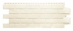 Фасадная панель GRAND LINE Состаренный кирпич (Молочный), 1,10м